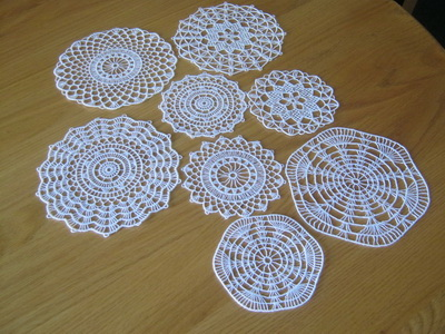 Free-Standing Lace Doilies