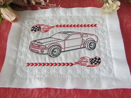 Br003 Qayg Muscle Cars Quilt Blocks
